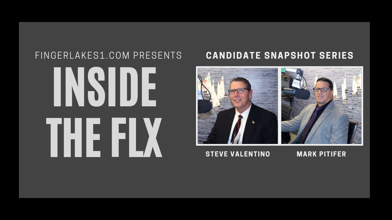 INSIDE THE FLX: Steve Valentino, Mark Pitifer discuss mayoral race in Geneva