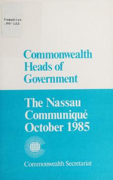 Cover of: Commonwealth Heads of Government | Commonwealth Secretariat
