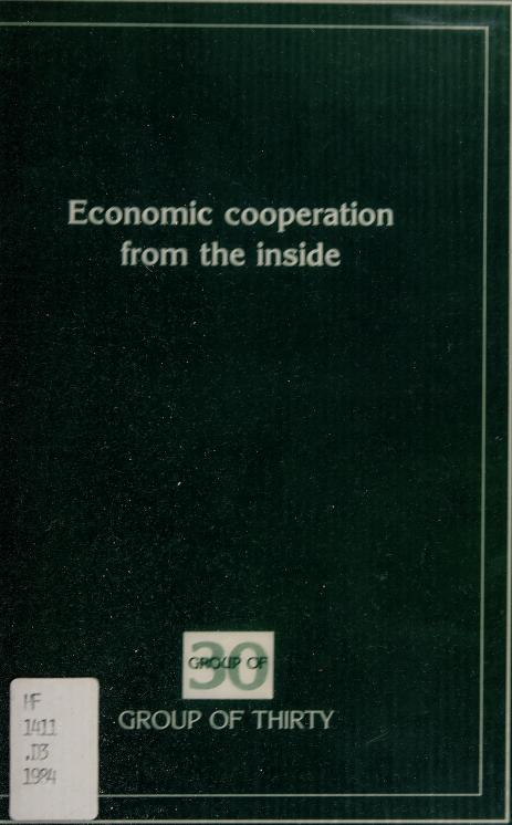 Economic cooperation from the inside by Marjorie Deane