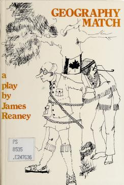 Cover of: Geography match | James Reaney