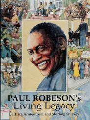 Cover of: Paul Robeson's living legacy | Barbara Armentrout