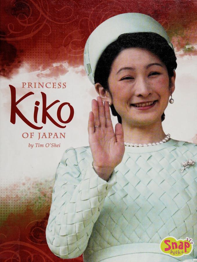 Princess Kiko of Japan by Tim O'Shei