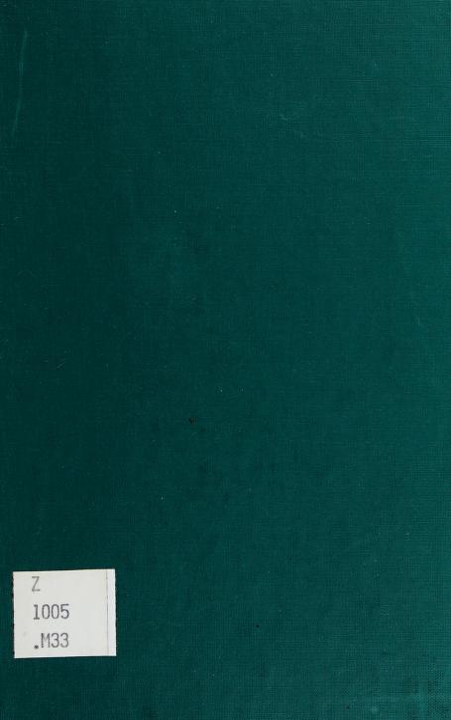 Ronald Brunlees McKerrow by J. Philip Immroth